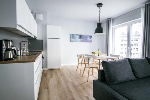 Zajezdnia Poznań  –  drugie mieszkanie 45 m2