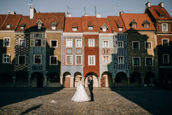 Agata i Maciej – miejska sesja ślubna