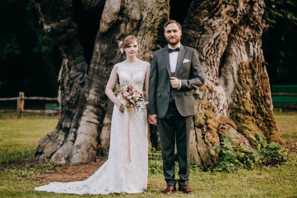 Marcela i Jasiu – sesja ślubna w Rogalinie