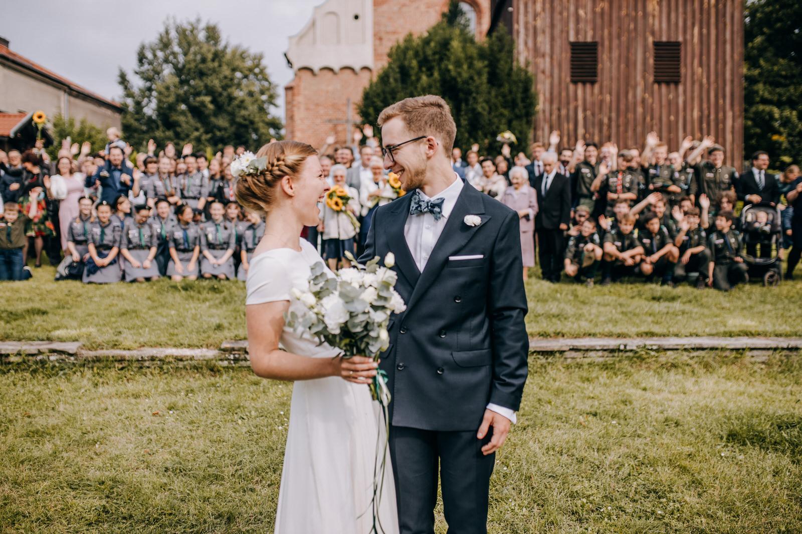Ola i Robert – ślub na Św Wojciechu