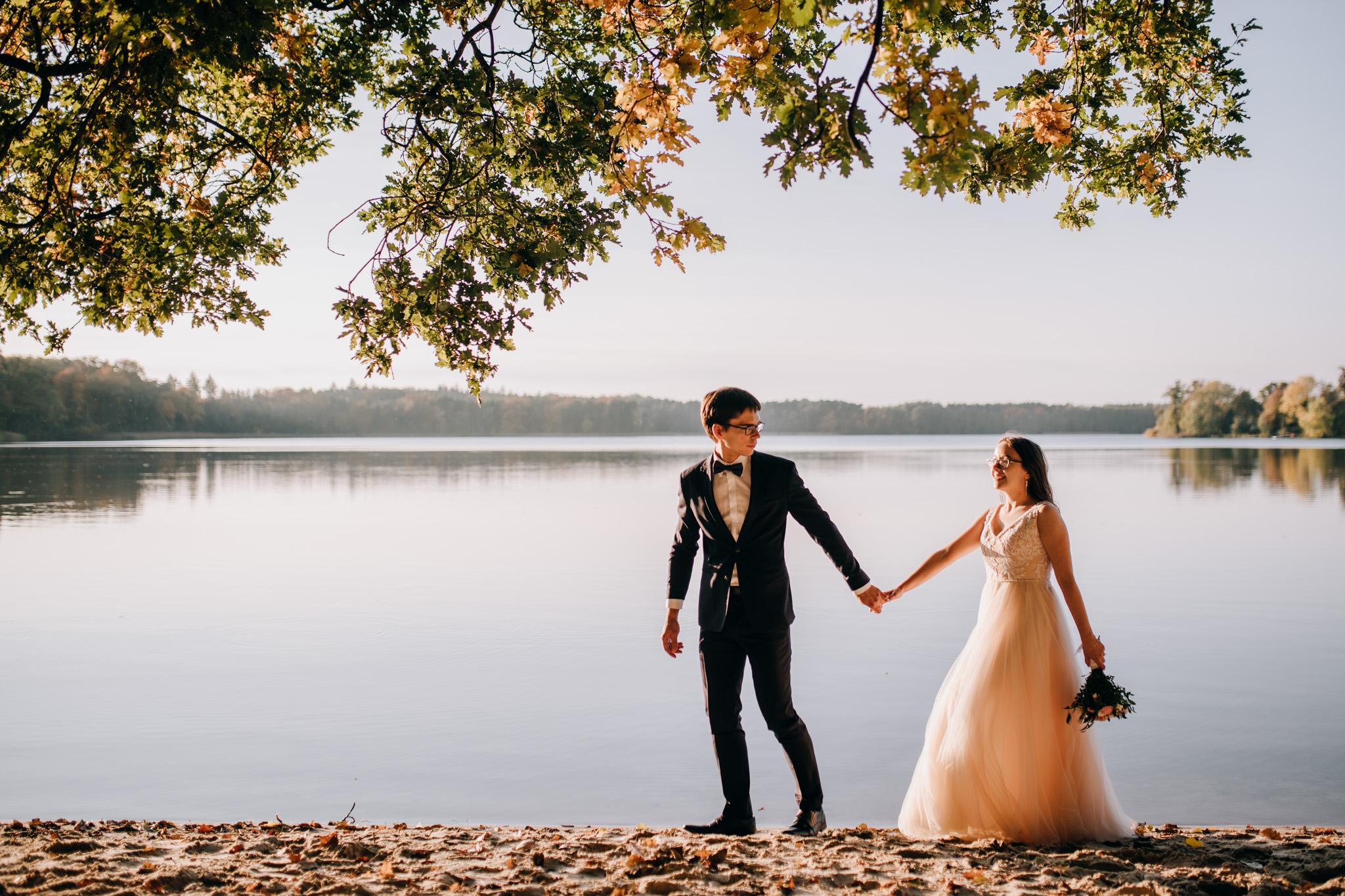 Sylwia i Maciej – jesienna sesja ślubna